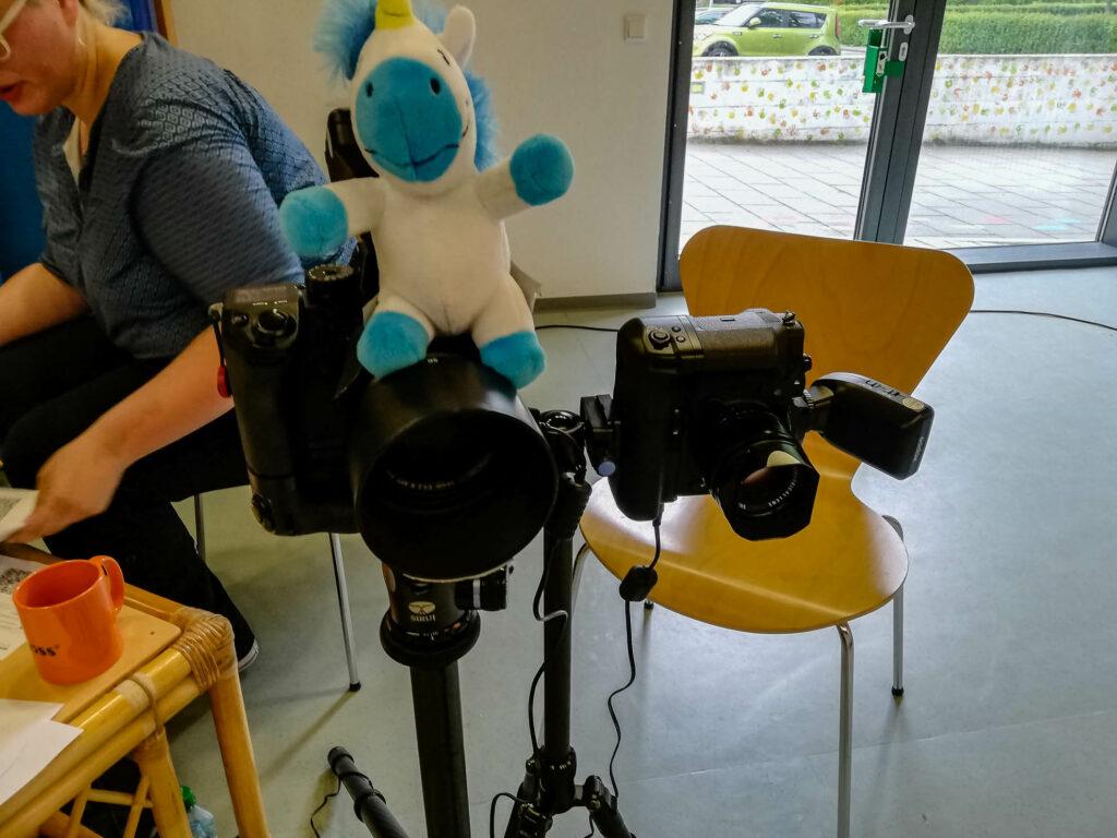 Making-Of Kindergartenfotografie